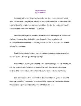 Maya Mermaid Story