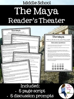 The Maya Reader's Theater Skit