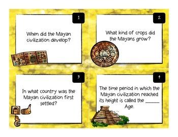 Maya Task Cards