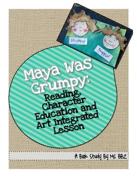 Maya Was Grumpy: Character Ed., Alliteration/Personification and Art Craftivity