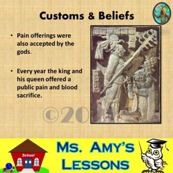 Ancient Mayan Civ.: Social Structure, Astronomy & Religion PowerPoint