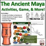 Maya Civilization Activities, Printables, Lesson Plans