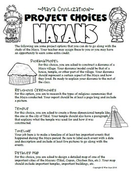 mayan civilization worksheets kidz activities. Black Bedroom Furniture Sets. Home Design Ideas
