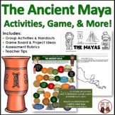 Maya Civilization Activities, Printables, Lesson Plans