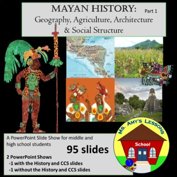 ancient mayan civ geo agriculture and architecture powerpoint