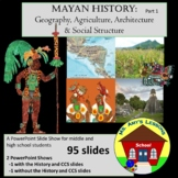 Ancient Mayan Civ.: Geo, Agriculture, and Architecture PowerPoint Presentation