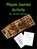 Mayan Journal/Writing Activity