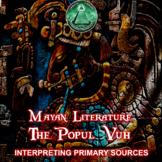 Mayan Literature - The Popul Vuh