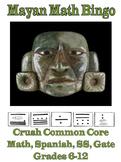 Mayan Math Bingo! Los Mayas!  Great Native American Lessons, Worksheets & Games!