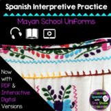 Mayan School Clothing Uniform Interpretive Practice, (Ropa