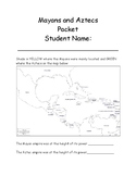Mayan and Aztec Guided Note Taking Packet