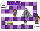 Mayans Game (File Folder Board Game)