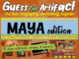 "Mayans ""Guess the artifact"" game: engaging PPT with pictures, clues & answers"