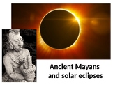 Mayans and Eclipse 2017