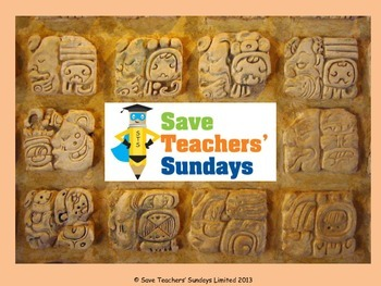 Mayans Artifacts Lesson plan, Questions and Images