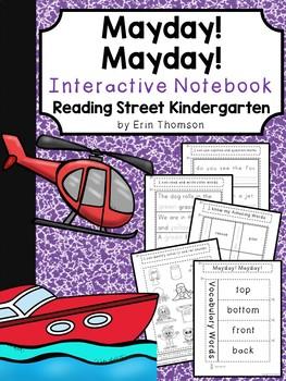Mayday! Mayday! Interactive Notebook ~ Reading Street Kindergarten