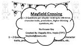 Mayfield Crossing Novel Study