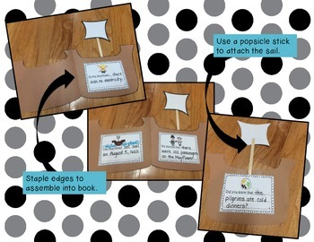 Mayflower Book Craftivity *FREEBIE*