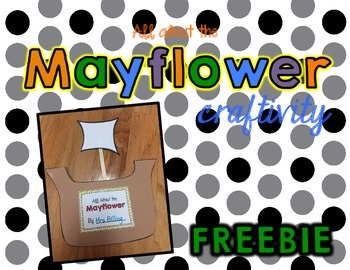 Mayflower Book Craftivity *FREEBIE*