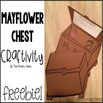 Mayflower Chest Craftivity