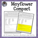 Mayflower Compact American Document Analysis Activity U.S.