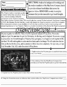 Mayflower Compact Analysis