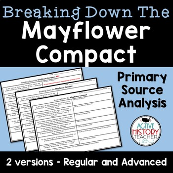 Mayflower Compact - Breaking it Down!  2 Versions included