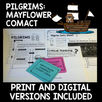 Mayflower Compact by Lisa Battista\'s Classroom | TpT