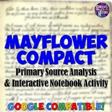 Mayflower Compact Primary Source & Notebook Activity
