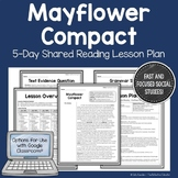 Mayflower Compact: Shared Reading Lesson Plan