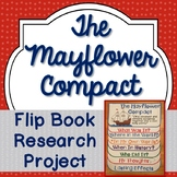 Mayflower Compact, Research Project, Flip Book, Writing Prompts, Vocabulary