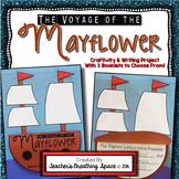 Mayflower Craftivity --- Mayflower Book Writing Project
