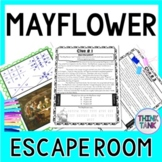 Mayflower ESCAPE ROOM: Mayflower Compact - Pilgrims - Print & Go!