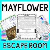 Mayflower ESCAPE ROOM: Mayflower Compact - Pilgrims - Print & Go!