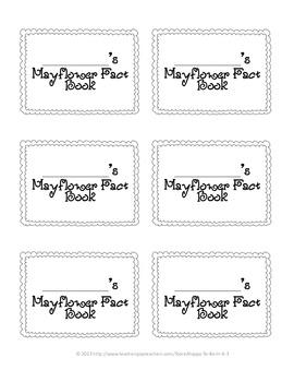 Mayflower Fact Book