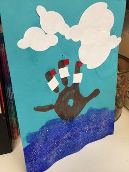 Mayflower Handprint