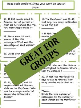 Mayflower Math