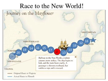 Mayflower Math - Race to the New World