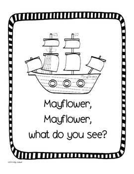Mayflower, Mayflower What Do You See?