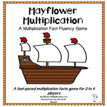 Mayflower Multiplication Fact Fluency Game