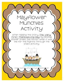 Mayflower Munchies - Thanksgiving Activity