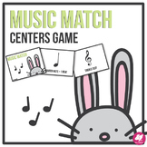 Music Memory Match Game - Centers Game