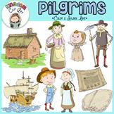 Mayflower Pilgrim Clip Art