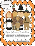 Mayflower, Pilgrims, Plymouth Colony and Thanksgiving Prim