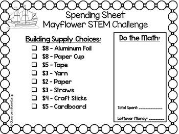 Mayflower STEM -  Thanksgiving STEM
