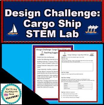 Mayflower STEM Thanksgiving Science Lab Activity