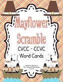 CVCC-CCVC Word Task Cards and Record Sheet - Mayflower