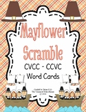 CVCC-CCVC Word Task Cards and Record Sheet - Mayflower