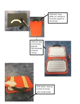 MINI Mayflower Suitcase Writing Activity