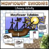 Mayflower Syllables Sorting Activity